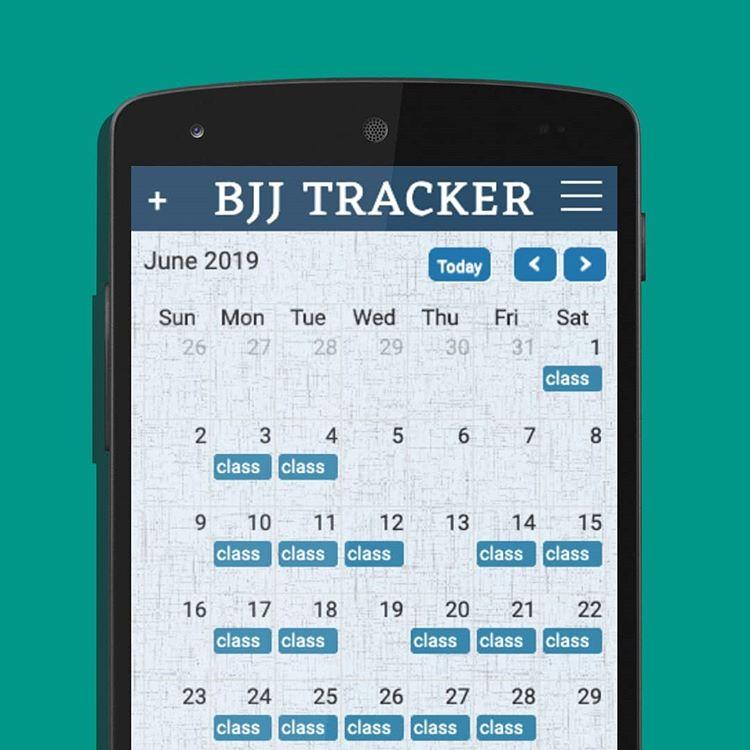 bjj tracker app