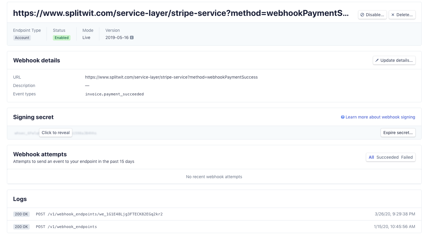webhook payment success